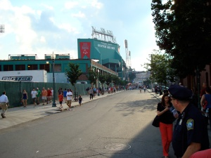 Back side of Fenway