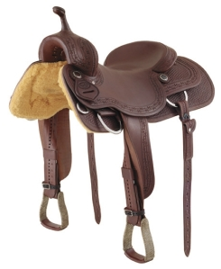 Not this kind of saddle...