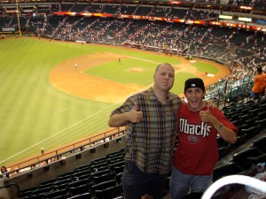 Today at the D-backs Game!