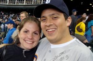 Nathan (and fiancee Megan)