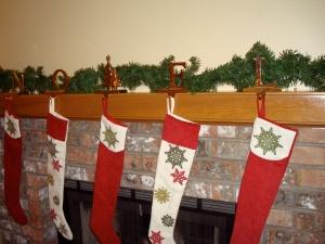 E enjoys the decorating