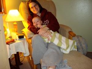 E&W love the cuddle time