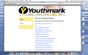 my desktop with youthmark.com open!
