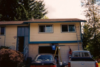 Our first home-ownership, Kent, WA