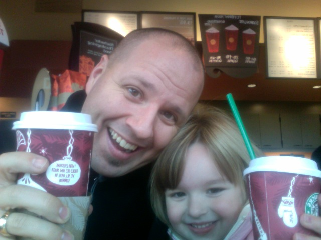"""We had so much fun on our daddy-daughter date"" Audrey"