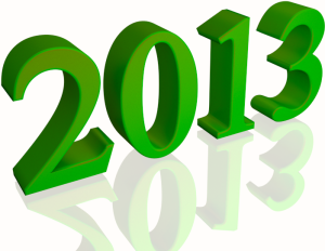Happy-new-year-2013-green-isolated-white-background