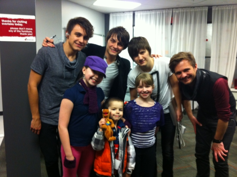 The Aaby kids with Everfound